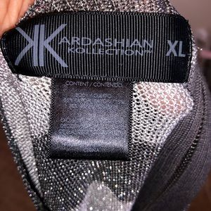 Kardashian Kollection Tops - Glittery tunic top/short dress